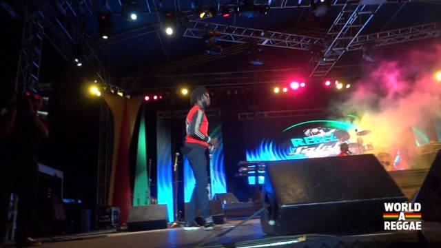 Chronixx Performance At Rebel Salute 2013