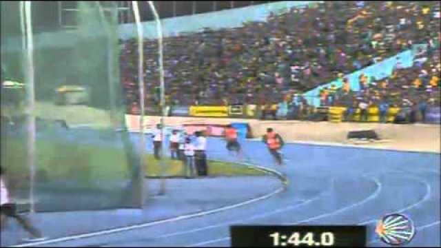 Gibson Relays 2013 Jamaica Men's 4 x 400m final
