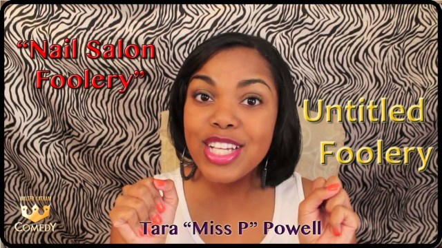 """Nail Salon Foolery"" Miss P ""Untitled Foolery"" #41"
