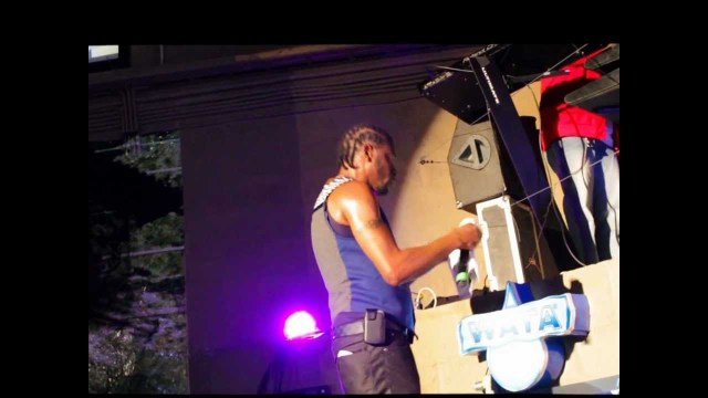 Bounty Killer performs at Behind The Screen @ Tracks and Records 2013