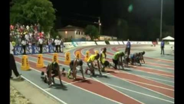 Usian Bolt wins in 10.09 at Cayman Invitational Meet 2013