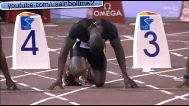 Justin Gatlin Wins in 9.97 over 100m Men Doha Diamond League 2013