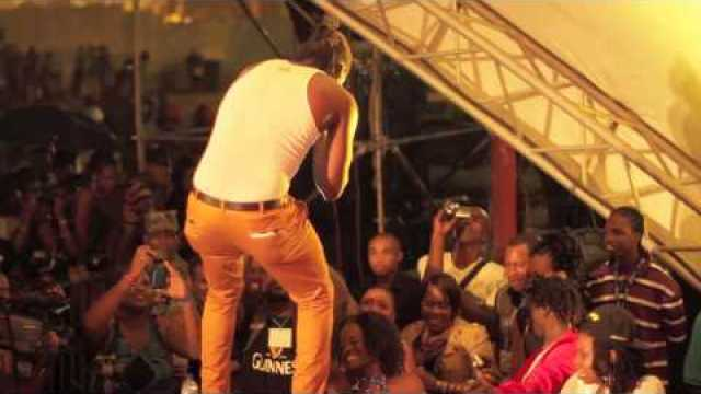 Aidonia Performing Live in St. Lucia 2013