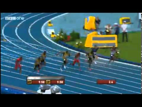 Usain Bolt Wins 100m Final in 9.77 At Moscow World Championships 2013