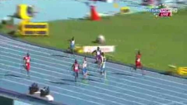 Curtis Mitchell (USA) 20.37Q wins Heat 1 men's 200m IAAF World Champs 2013
