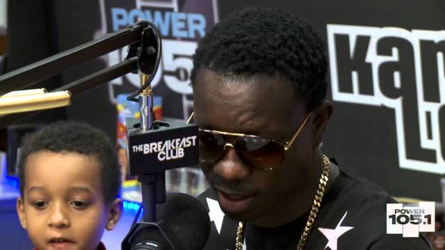 Michael Blackson at The Breakfast Club – Power 105.1