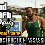 GTA 5 – Mission #48 – The Construction Assassination [100% Gold Medal Walkthrough]