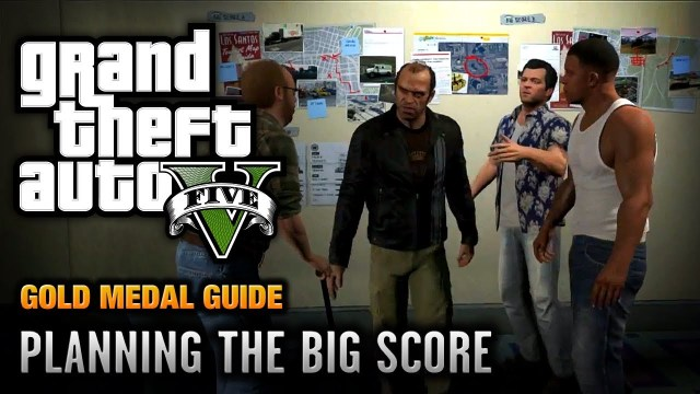 GTA 5 – Mission #76 – Planning the Big Score (Obvious) [100% Gold Medal Walkthrough]