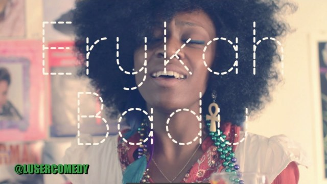 Erykah Badu Poetry – Spoof!!!