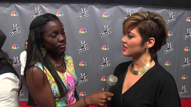 Tessanne Chin The Voice Top 10 Press Screening Interview