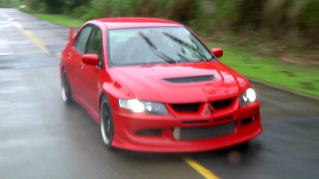 """The Myth"" of Panama's 900 HP Mitsubishi Evolution 7"