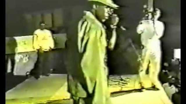 Vybz Kartel First Ever Time On The Stage With Bounty Killer Year 2000