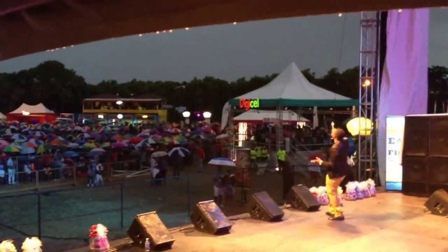 Rickey Teetz Live At RainForest Seafood Festival 2014