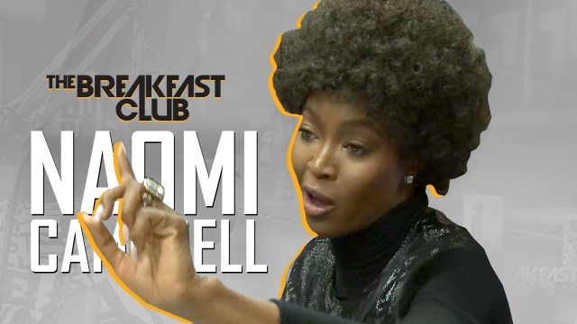 Naomi Campbell Interview at The Breakfast Club Power 105.1