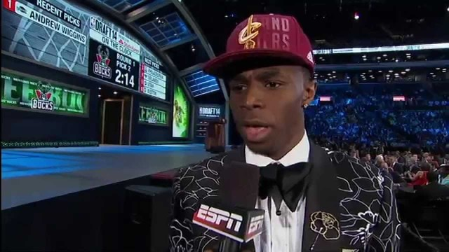 NBA: The Cavaliers Select Andrew Wiggins with the Number 1 Pick!