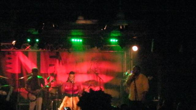 Etana live in concert in Paris 2014
