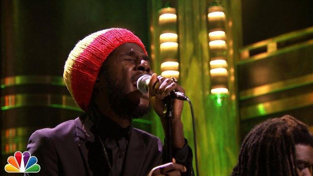 "Chronixx Performing ""Here Comes Trouble""  on The Tonight Show"