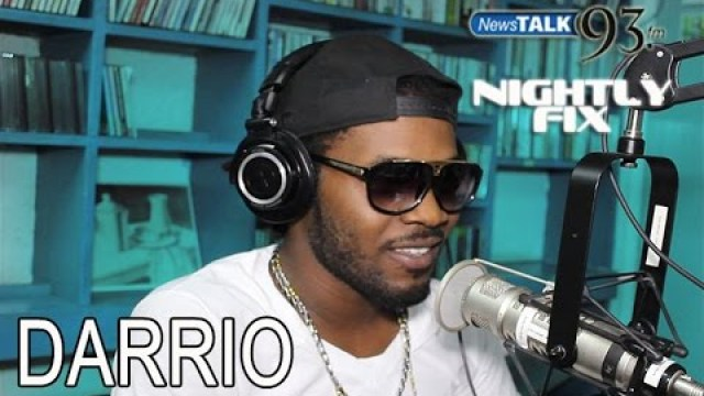 Darrio talks being apart of Subkonshus Music on Nightly Fix