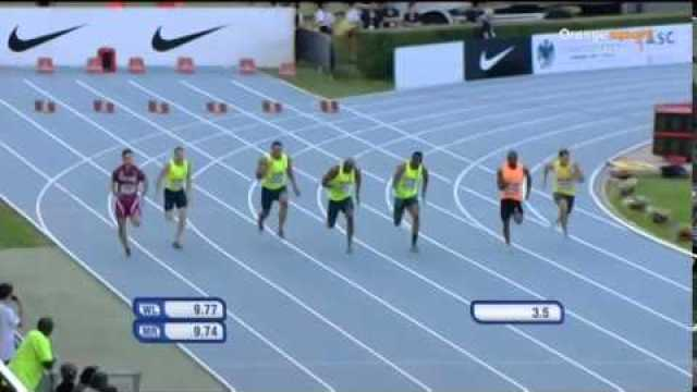 Asafa Powell Wins In 9.90 (+0.7) 100m Rieti IAAF World Challenge 2014