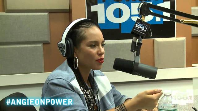 Alicia Keys Interview with Angie Martinez Power 105.1