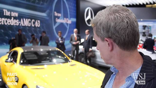 Paris Auto Show: The New Mercedes-AMG GT