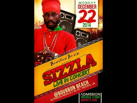 "Sizzla ""Live in Concert"" at Bourbon Beach 2014"