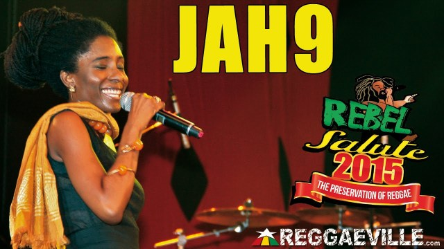 "Jah9 performs ""New Name"" at #RebelSalute2015"