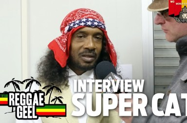 Interview: Super Cat at Reggae Geel 2015