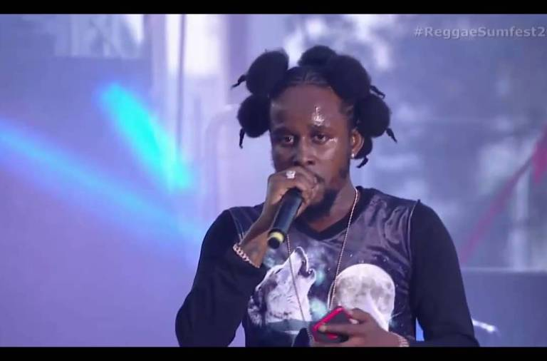 Popcaan Full Performance at Reggae Sumfest  2016