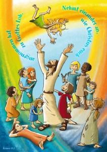 Jahreslosung für Kinder 2015  von Uli Gutekunst
