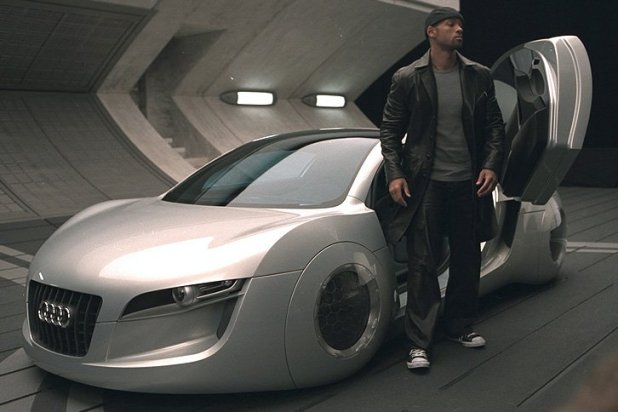 La Audi du turfu dans I Robot