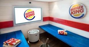 Burger King ouvre un sauna au sein d'un restaurant finlandais