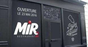Payez en liquide… vaisselle au Mir Restaurant 2 !
