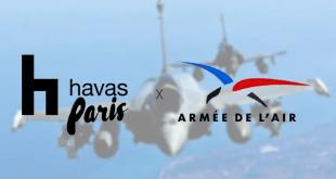Havas Paris gagne le budget de l'Armée de l'Air pour 3 ans