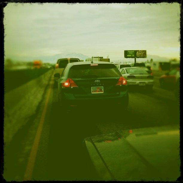 Traffic in Orem