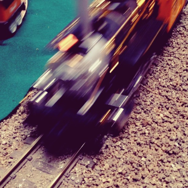 Train show!