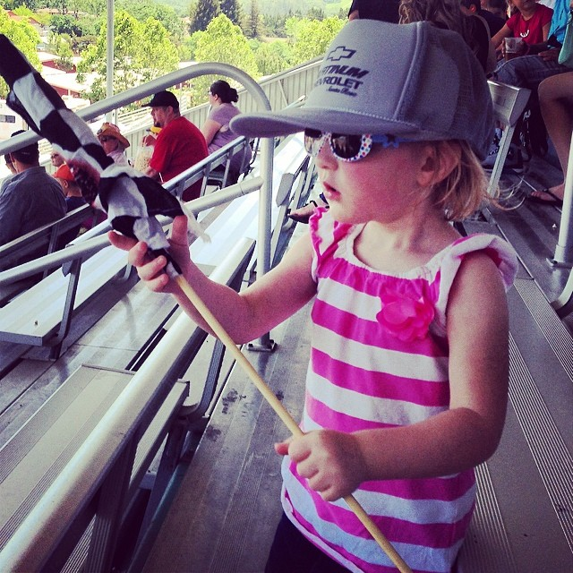 Monster truck race fan...