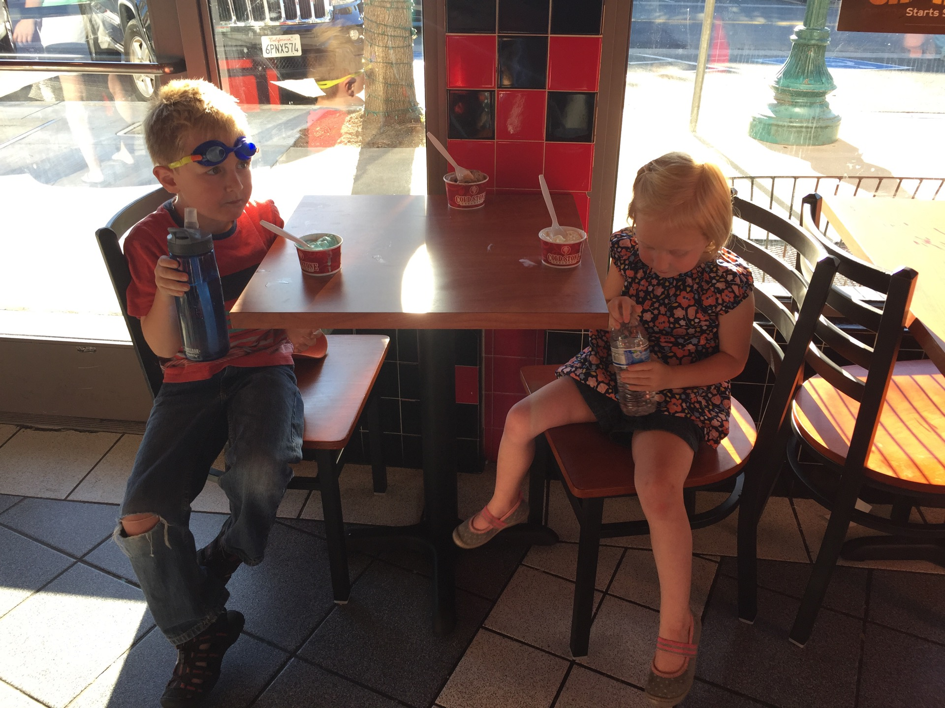 Checked in at Cold Stone Creamery