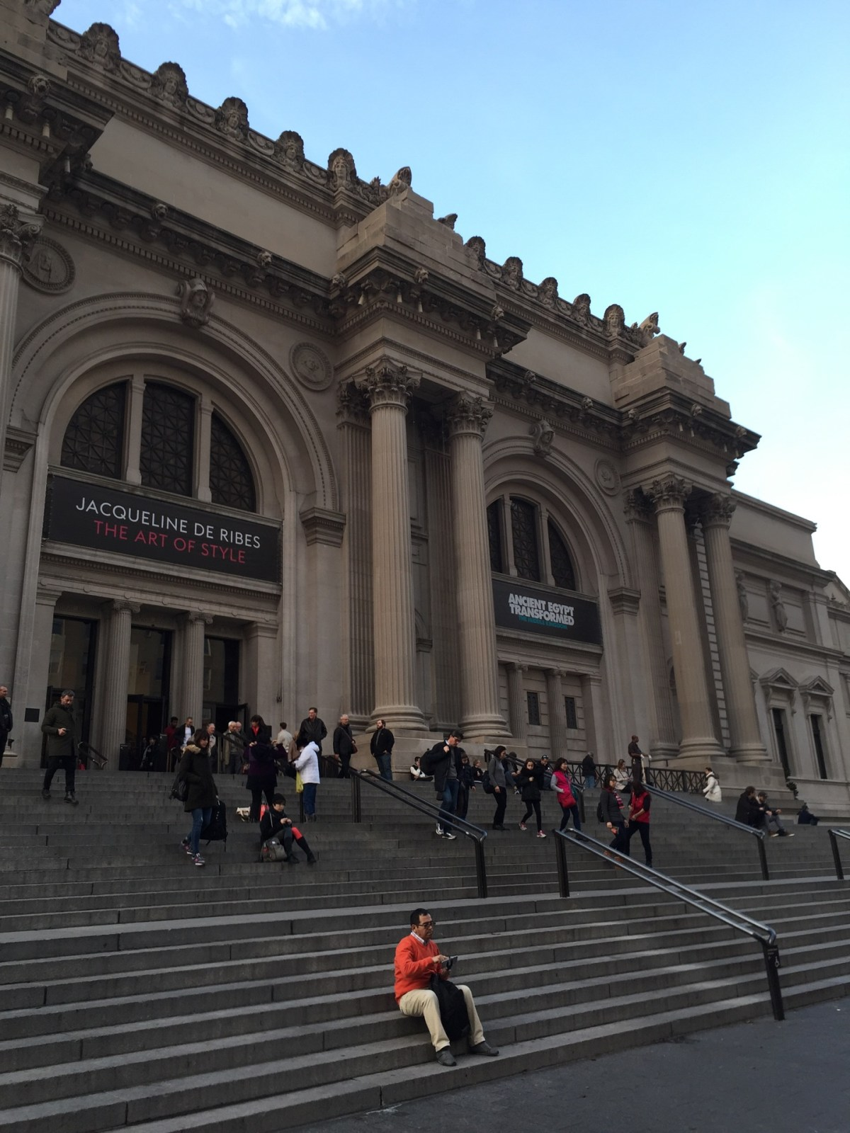 Checked in at The Metropolitan Museum of Art