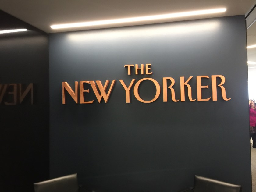 Checked in at The New Yorker