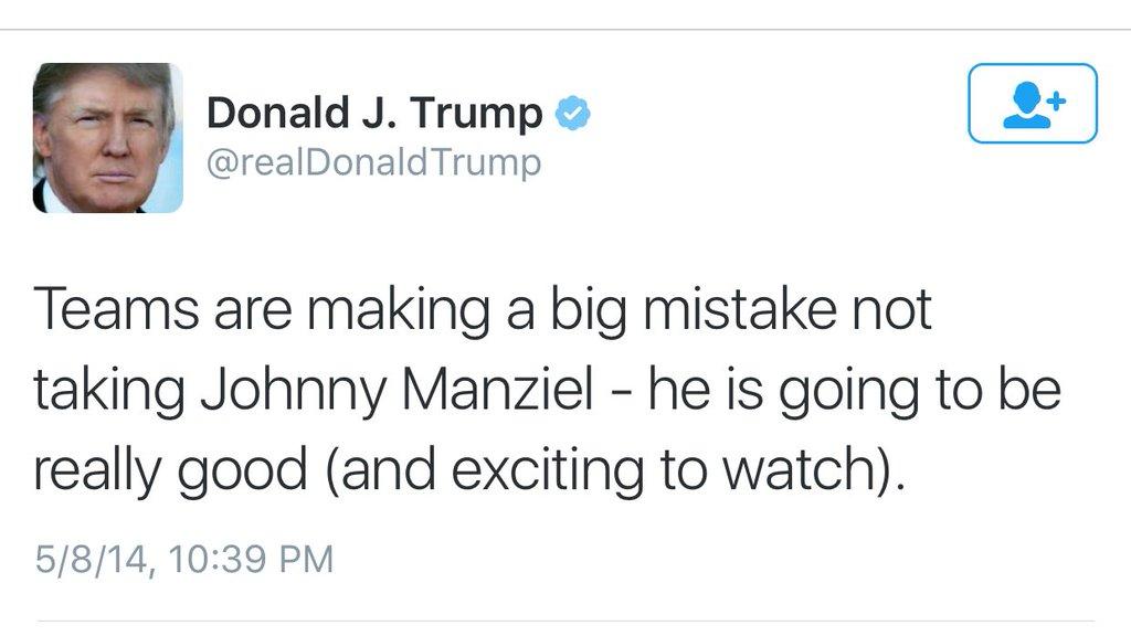 RT @SomeonesAnIdiot: Johnny Manziel was…