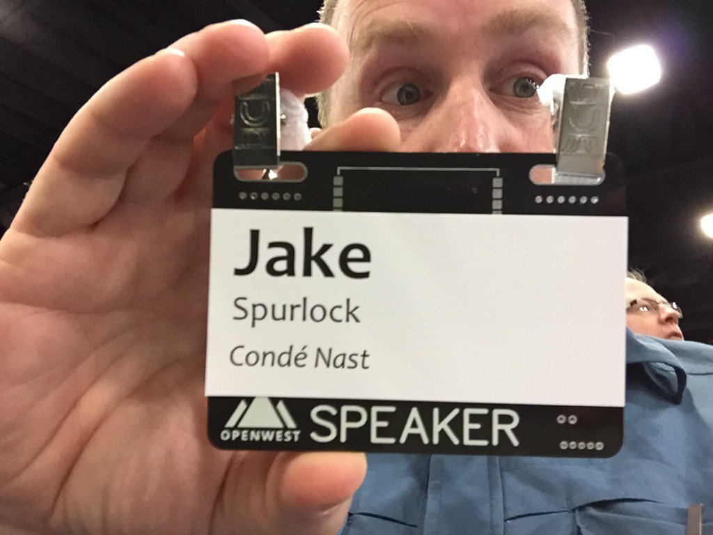 Cool conference PCB badges at…
