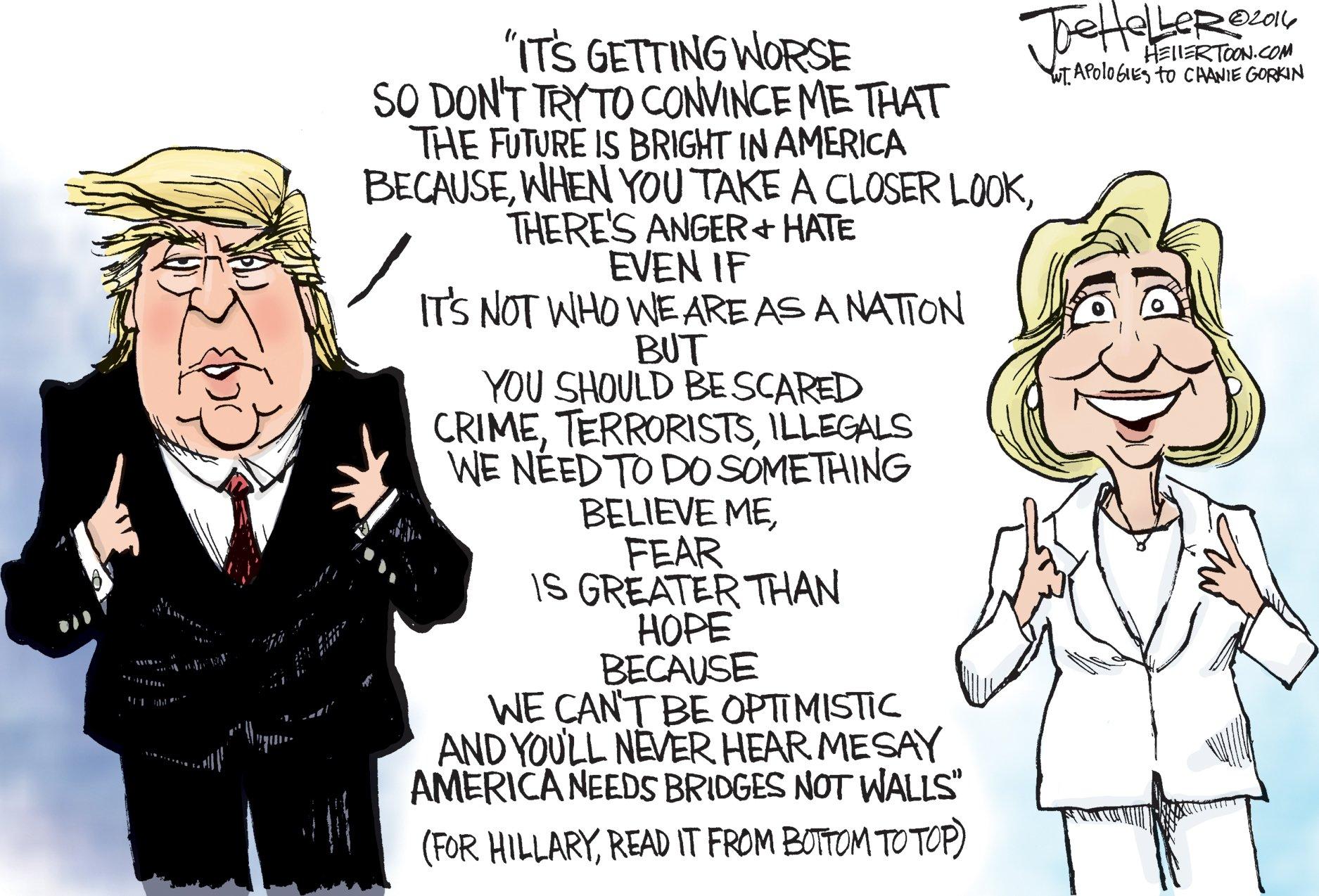 RT @ariannahuff: This political cartoon…