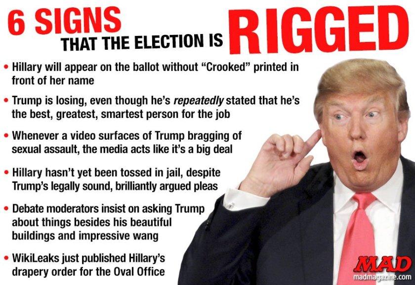 RT @MADmagazine: 6 Signs That…