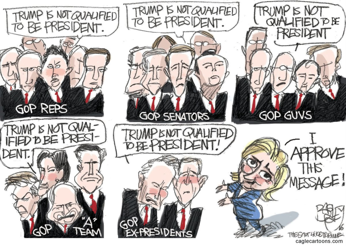 RT @Patbagley: I Approve This…
