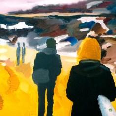 Paldiski 2, 90x75 cm, akryl na plátně / acrylic on canvas, 2010