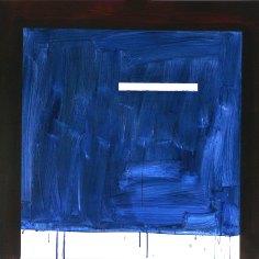 schránka / box, 90x85 cm, akryl na plátně / acrylic on canvas, 2015