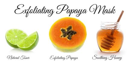 Exfoliating Papaya Mask