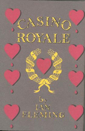 Casino Royale, première édition, Jonathan Cape, 1953.