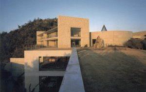 Bennesse House prise en photo par Raymond Benson en 2001